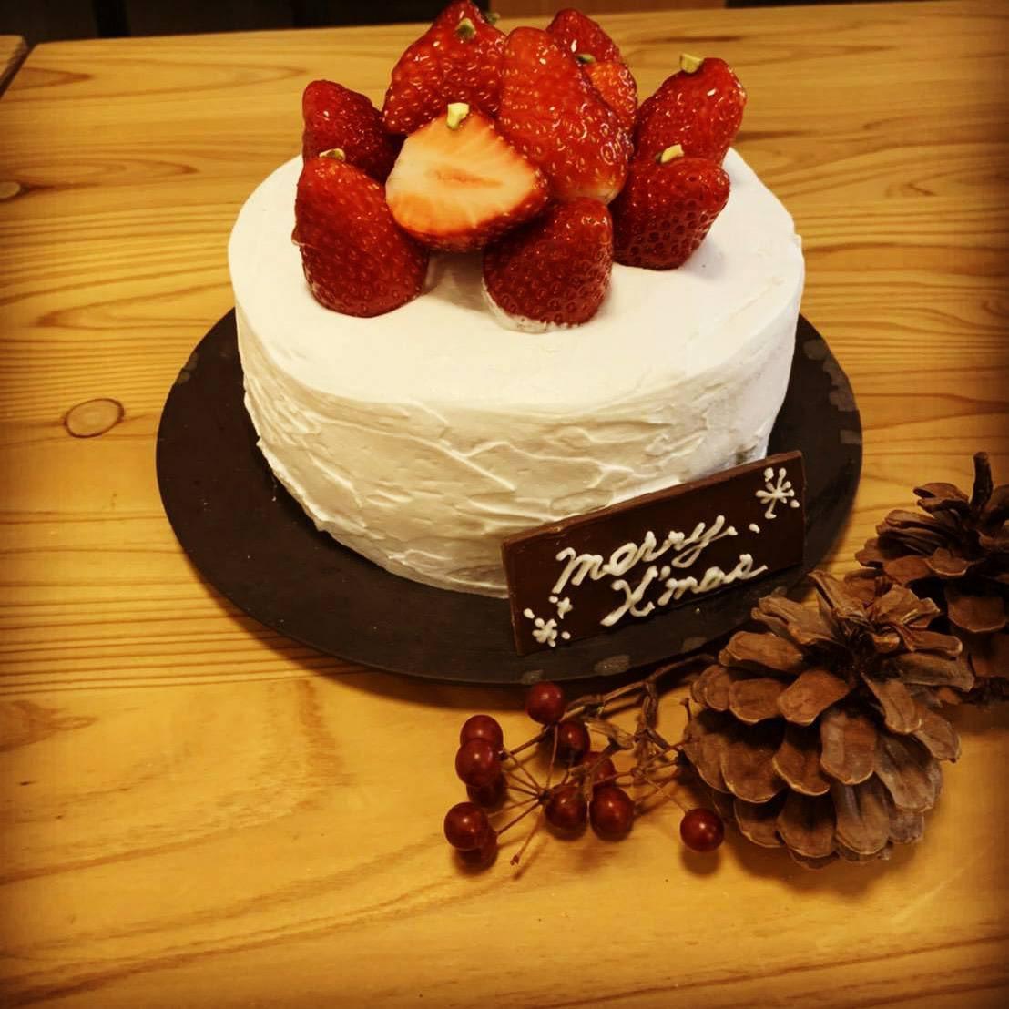 🎄 クリスマスケーキ教室のご案内 🍰